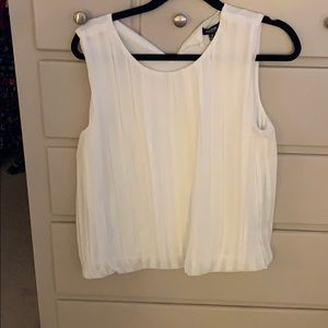 White/ cream dress tank